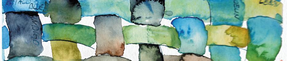 aquarellbilder-greens