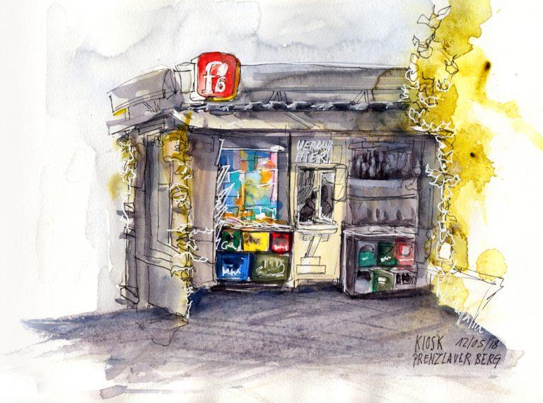 berlin-urban-sketching-kiosk-prenzlauer-berg-alexa-dilla