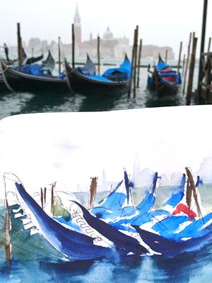 venedig-aquarell-malreise-dilla