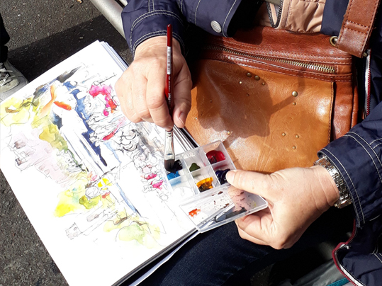 ostern-malreise-berlin-alexa-dilla-urban-sketching