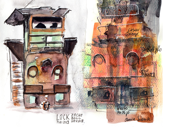 urban-sketching-zeche-zollverein-1